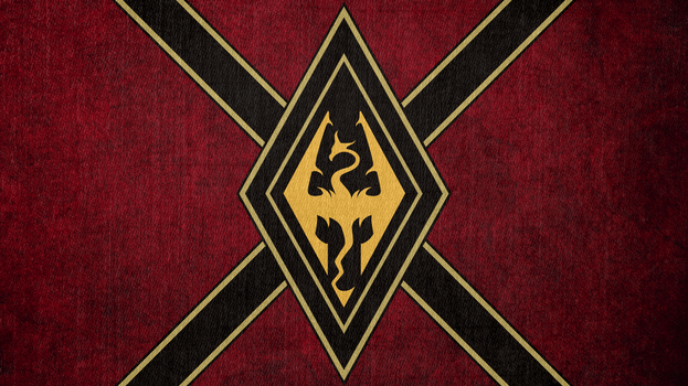 Elder Scrolls: Flag of the Mede Empire by okiir