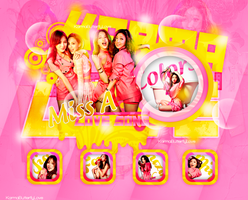 +Edicion|Love Song-Colors|Miss A by KarmaButterflyLove
