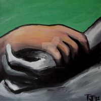 Folded Hands After Picasso by icygumball3000