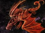 Gold Red Dragon by balorkin