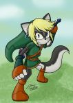 The Wolf Hero 'color V2.0' by RockGaara