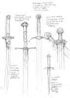 Cealdian swords by Nhaar