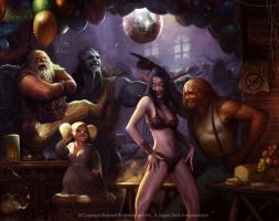 Disco Inferno by Concept-Art-House