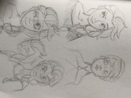 Elsa sketches by Ari-Almighty