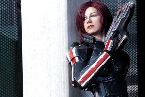 Commander Shepard: Cover by LittleBlondeGoth