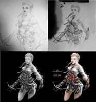 Nord Alchemist concept art (progress) by Carlo-Marcelo