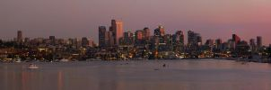 Seattle Panorama 2 by vmulligan
