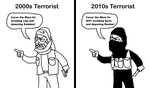 Terrorists Then and Now by PapaGonzales