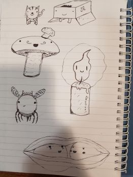Collection of cute drawings by Meterious