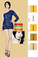 SISTAR Dasom Twitter Layout by Your-luv