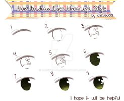 How to draw Eyes Hima-Style by Chisueo001
