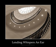 Lending Whispers An Ear by pixeldiva