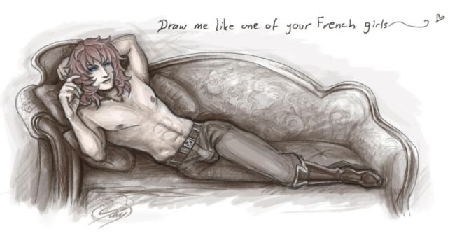 Draw me like one of your French girls~ by silvestris