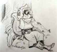 Meli Relaxes by SupaCrikeyDave