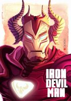 Iron Devil Man by Wenart
