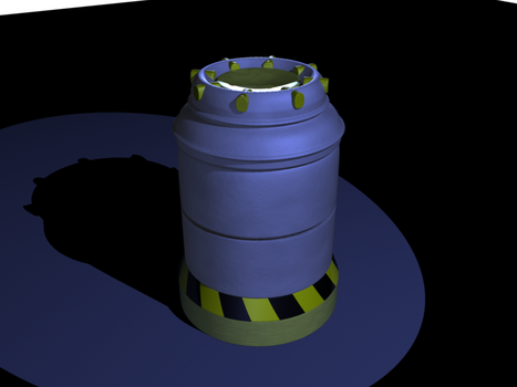 Sci-Fi canister by DeusUK