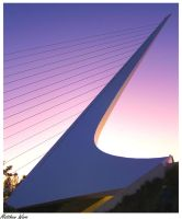 Sundial Bridge by MJWarePhotography