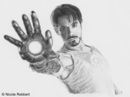 Tony Stark - Iron Man by Quelchii