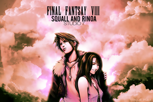Squall and Rinoa by Skull--Kid