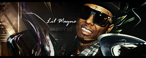 Lil Wayne Signature by BreeZyGee