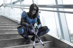 Nightwing Cosplay by RJWPhotography
