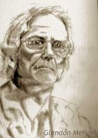 Richard Dawkins portrait by GlendonMellow