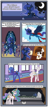 Five Things You Didn't Know About Princess Luna by Neko-me