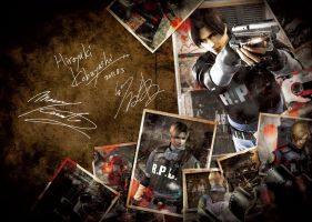 Leon.S.Kennedy by heatheryingNL