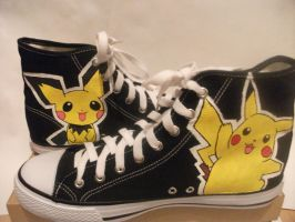 Pokemon Shoes by matstar102