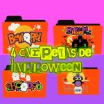 Carpetas de Halloween by DamarisTuto134
