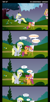Comic Derpy Art by rainbownspeedash