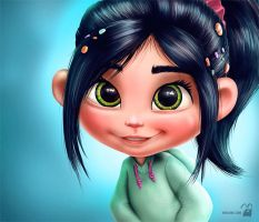 Vanellope by krolone