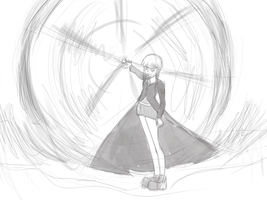 Maka sketch 2 by Wor1dxfs