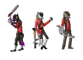 .::Wolf Team-Gift::. by Nonthyl