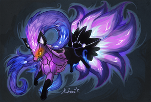 Chandelure NineTail fusion