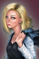 Android 18 by MeganeRid