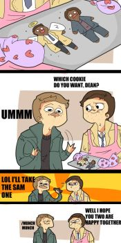 SPN: COOKIE ISSUES by HYUMAN