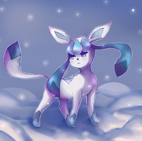 Glaceon by Azuuhime