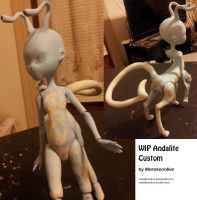 WIP Andalite custom by mistakenolive