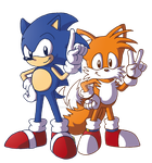 DD: Classic Sonic 'n'Tails by adamis
