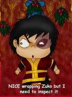 mistletoe Zuko colored by Fallonkyra