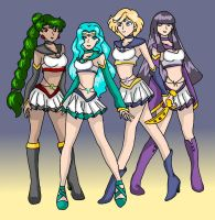 Outer Millenium Senshi 02 by nads6969