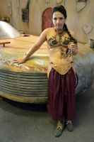 Slave Leia Cosplay at the NSC (2) by masimage