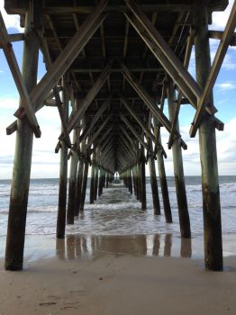 Under the Boardwalk by AeroChance