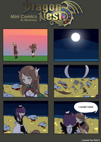 Dragon Nest Mini Comic: I Loved You Part 3 by Merlewae