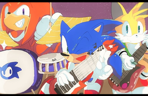 TEAM SONIC by aoii91