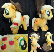 AppleJack Plush by Cryptic-Enigma