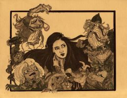 Sarah + the Goblins-For Nella by toosmall772