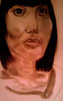 chineesewoman drawing with model by Arioch85