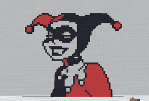 Minecraft - Harley Quinn by shadex00x